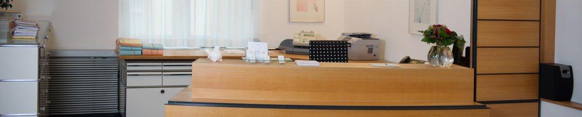 Online Zuweisung in der Neuropraxis im Haus zum Walfisch in Winterthur